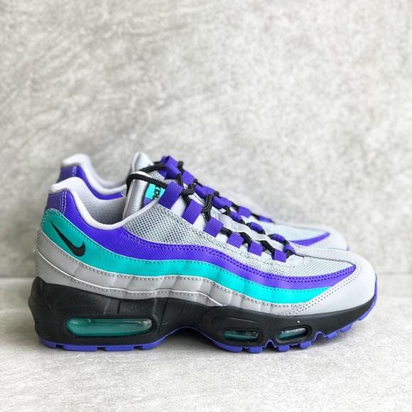 check out 818ab 89969 Nike Air Max 95 Aqua